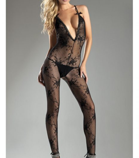 Halter-top Body Stocking BWB12 One Size and Queen