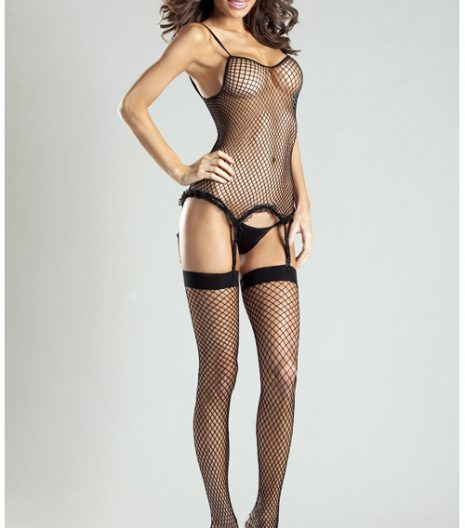Spandex Net Body Stocking