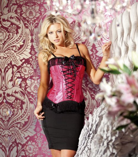 Corset with Front Lace-Up BW1268
