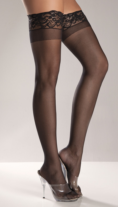 Spandex Thigh Highs Item#: BW563