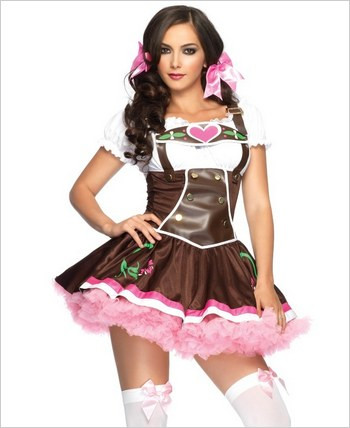 Lil' German Girl Sexy Adult Costume