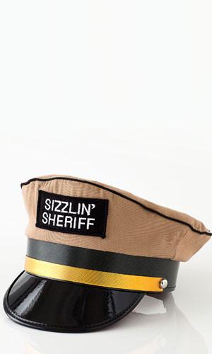 Sizzlin' Sheriff Patrol Hat