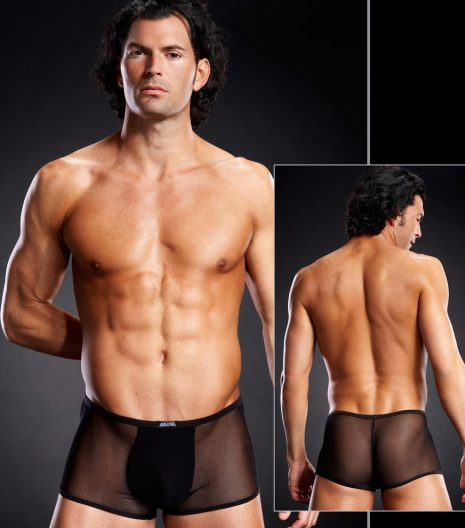 Classic trunk in revealing micro-mesh BLM008