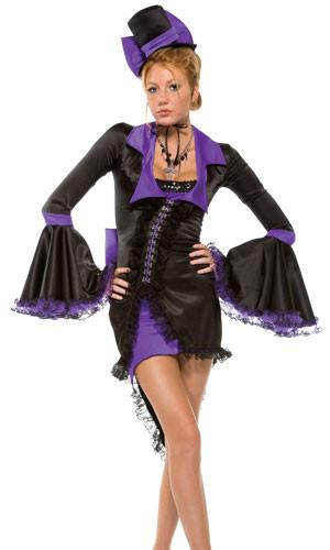 Purple Bow Vampire Hat