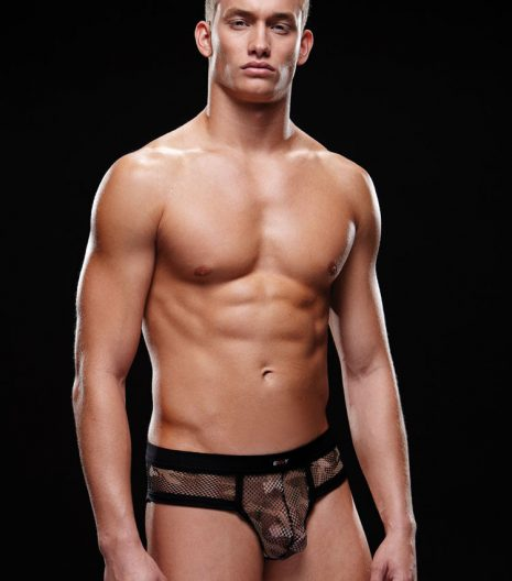 Fishnet sports brief