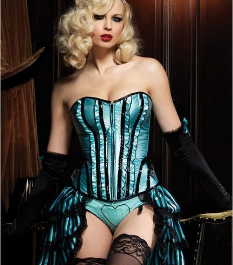 Betty Corset With Support Boning (More Colors Available)