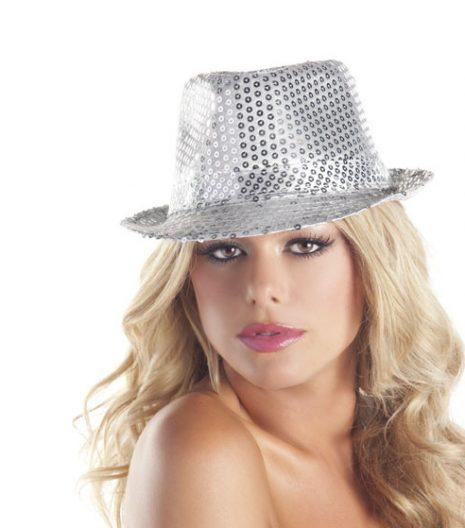 Sequin Fedora Hat (4 Colors)