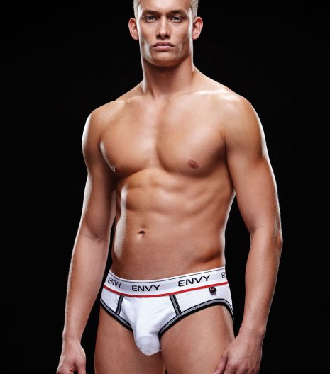 Logo Elastic, Low-Rise Bare Back Brief