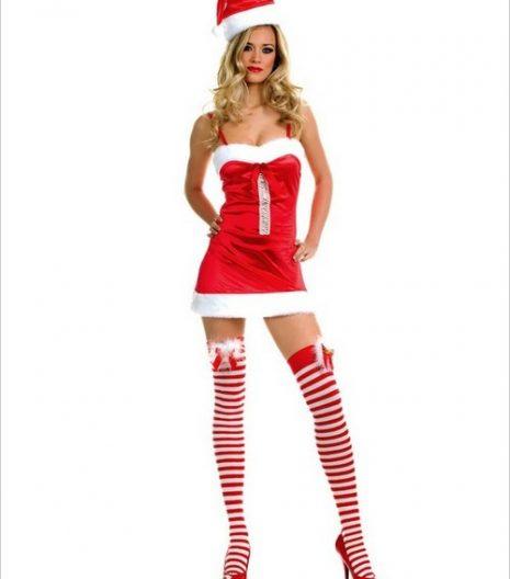 Miss Santa Dress Costume