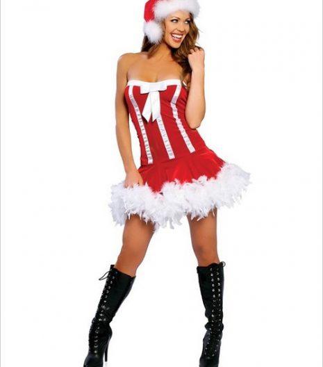 Sweet Santa Sexy Adult Costume