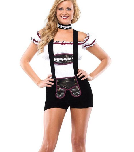 Busty Beer Girl adult costume