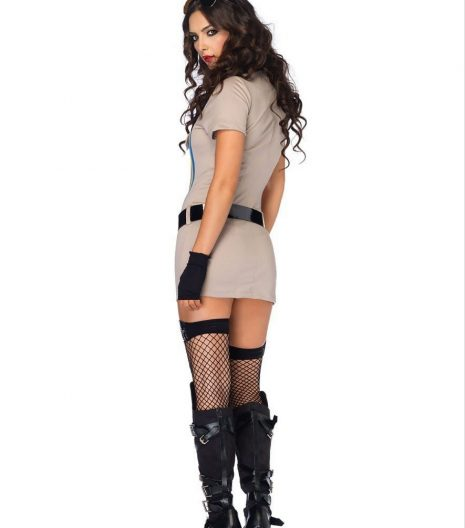 3 pc. Highway patrol honey costume