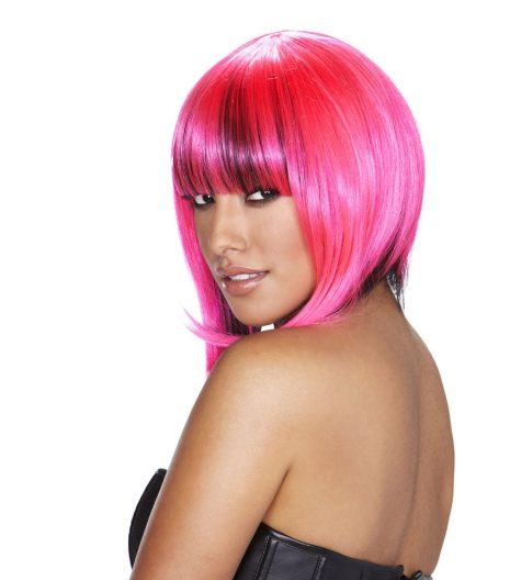 Belladonna Wig Pink/Black
