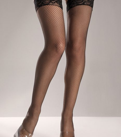 Lycra Stay-up Fishnet Thigh Highs.One Size and Queen size