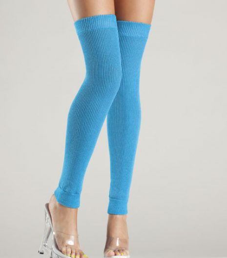 Acrylic thigh high leg warmer 7 colours