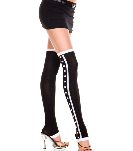 Dots And Stripe Leg Warmers