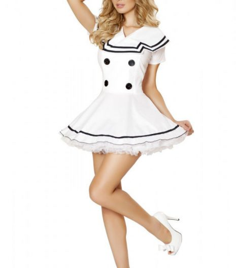 2pc Sexy Sailor Maiden Costume