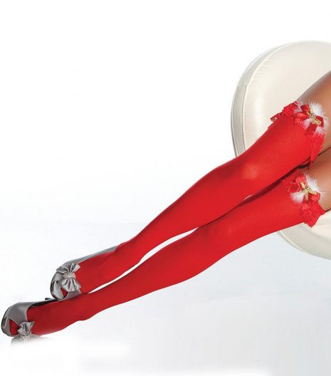 Jingle Bells Stockings With Bow