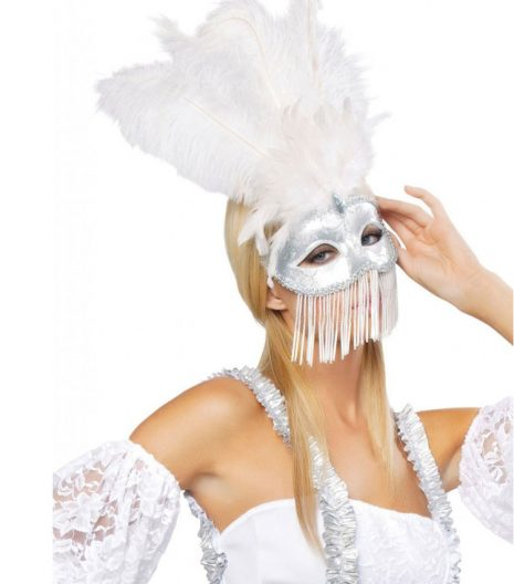 Beaded Masquerade Mask