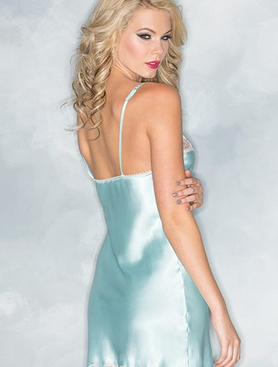 Satin and Lace Babydoll Small to 3X/4X