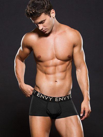 Envy Micro LowRise Logo Elastic Trunk