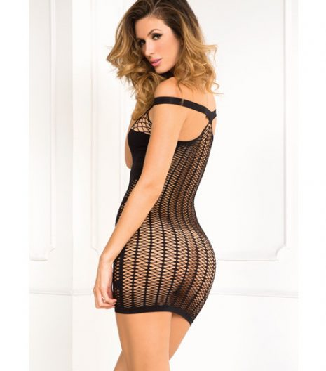 Rene Rofe Big Spender Multi-Net Seamless Dress S/M and M/L