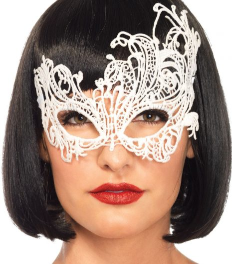 Fantasy Venetian Appliqué Eye Mask